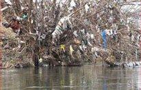 plastic in rivieren